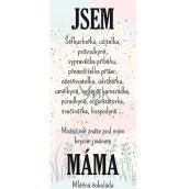 Bohemia Gifts & Cosmetics Milk Chocolate Cover Name - Mum 100g