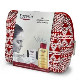 Eucerin pH5 relipidating shower oil 200 ml + pH5 regenerating hand cream 75 ml + etue, cosmetic set