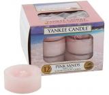 YANKEE TEA Candle 12pcs Pink Sands 6987