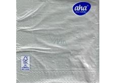 Aha Paper napkins 3 ply 33 x 33 cm 20 pieces Christmas Silver