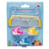 Pinkfong Baby Shark water spray toys, bath set for kids