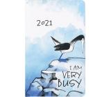 Albi Diary 2021 pocket weekly Terej 15.5 x 9.5 x 1.2 cm
