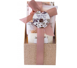 Salsa Collection White Tea and Rose Water bath foam 80 ml + body lotion 60 ml + bath salt 100 ml + solid soap 40 g gift set