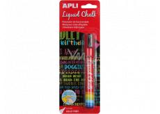 Apli Chalk marker round tip red 5.5 mm
