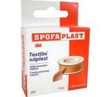 3M Spofaplast 131 spool textile patch 1.25 cm x 5 m
