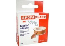 3M Spofaplast 131 coil textile patch 1,25 cm x 5 m