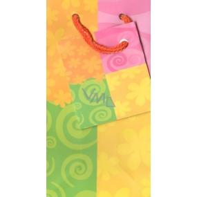 Nekupto Gift paper bag 13 x 7 x 5 cm Color 1 piece 003 FXS