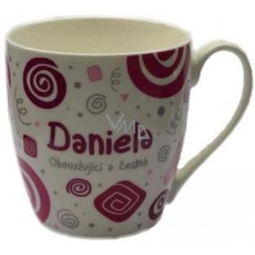 Nekupto Twister mug named Daniel pink 0.4 liter