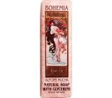 Bohemia Gifts Alfons Mucha Rose toilet soap 125 g