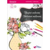Ditipo Třpytivé omalovánky Váza 21 x 30 cm