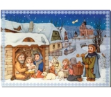 Albi Envelope Playing Nativity Scene Merry Christmas Feast Boni Pueri 14.8 x 21 cm