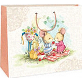 Ditipo Gift paper bag 38 x 10 x 29.2 cm 2 mice
