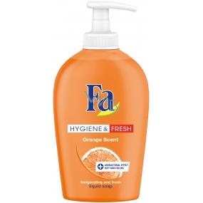 Fa Hygiene & Fresh Orange Scent tekuté mýdlo dávkovač 250 ml