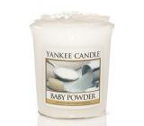 Yankee Candle Baby Powder - dětský pudr vonná svíčka votivní 49 g