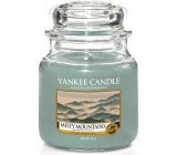 YANKEE CANDLES fragrant glass of medium Misty Mountains 3730