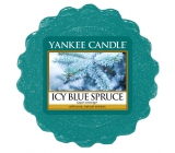Yankee Candle Icy Blue Spruce - Glacial blue spruce fragrant wax for aroma lamp 22 g