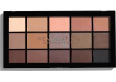 Makeup Revolution Re-Loaded Basic Mattes Eye Shadow Palette 15 x 1.1 g