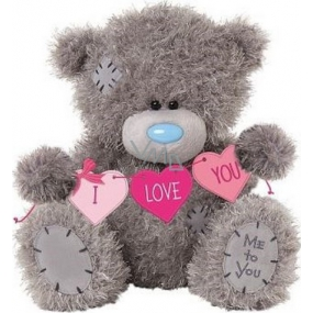 Me to You Teddy Hearts I Love You 21 cm