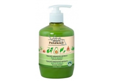 Green Pharmacy tek.krém. Aloe Soap and Avocado 460ml - Moisturizing 7807