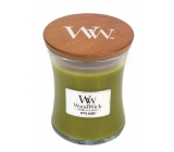 WoodWick Apple Basket - Basket of apples scented candle with wooden wick and lid glass medium 275 g