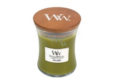 WoodWick Apple Basket - Candy basket with sparkling candle and glass middle 275 g