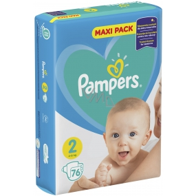 Pampers Maxi Pack 2 4-8 kg diapers 76 pieces