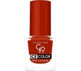 Golden Rose Ice Color Nail Lacquer mini nail polish 187 6 ml