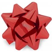 Nekupto Starfish medium metal red 6.5 cm HX 127 30