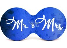 Mr. Nekupto Cork Coaster and Mrs. 19 x 9.5 x 0.3 cm