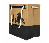 Albi Eco bag made of washable paper with handle - dogs 30 cm x 34 cm x 18 cm