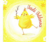 Nekupto Easter Wishes Happy Easter Spring began 100 x 100 mm 3553 XI