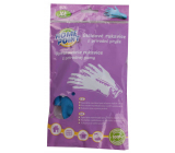 Home Point Suede cleaning rubber gloves made of natural rubber 10 / XL