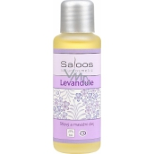 Saloos Lavender body and massage oil for regeneration, against pain, stress 50 ml