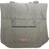 Hugo Boss Messenger Bag backpack - bag gray large 39 x 37 x 16 cm