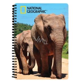 Prime3D notebook A5 - Elephants 14.8 x 21 cm