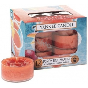 Yankee Candle Passion Fruit Martini - Tropical cocktail with Martini scented tea candle 12 x 9.8 g