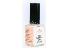 Amoené Gel Damage Nail Rescue Rescue Nail Polish For Extremely Damaged Nail Treatment, Disease Powder Color 12 ml