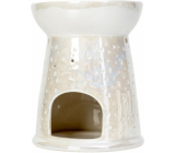 Heart & Home Aromalampa Dots large white 12.5 cm