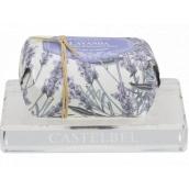 Castelbel crystal clear soap dish 12.5 x 8.5 cm