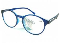 Berkeley Reading glasses +1.5 plastic blue-black, round glass 1 piece MC2182