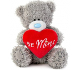 Me To You Teddy bear with a heart and the inscription Be Mine 10.5 cm
