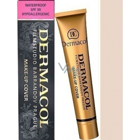 Dermacol Cover make-up 208 waterproof for clear and unified skin 30 g