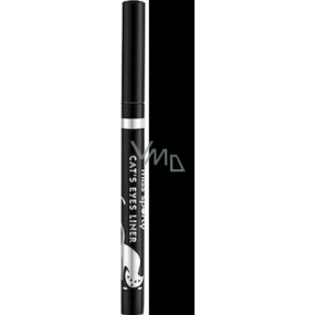 Miss Sports Cat with eyeliner in marker 001 Miaowww Black 1.6 g