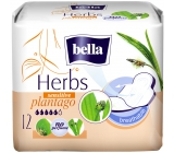 Bella Herbs Plantago Sensitive intimate flavored inserts with wings 12 pieces