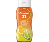 Creme 21 Orange & Lime sprchový gel 75 ml