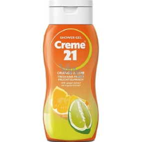 Creme 21 Orange & Lime shower gel 75 ml