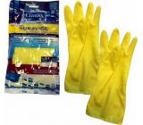 Clanax Latex Gloves Standard S-7 Small 1 pair