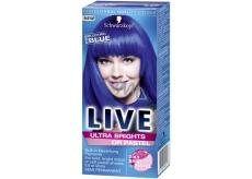 Schwarzkopf Live Ultra Brights or Pastel barva na vlasy 095 Electric Blue