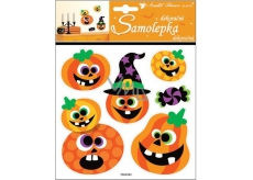 Room Decor Halloween Pumpkin Stickers 23 x 18 cm