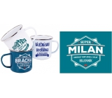 Albi Metal mug named Milan 500 ml
